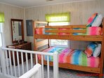 Streetside Bedroom with Bunk Bed