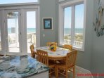Oceanfront Breakfast Nook