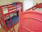 1st Floor Bedroom w/ 2 Sets of Bunks