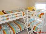 1st Floor Middle Bedroom w/ 2 Bunk Beds