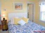 1st Floor Streetside Bedroom w/ Queen Bed