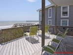Oceanfront Covered Porch & Sun Deck II