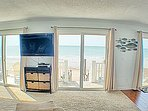 Plenty of Natural light and Ocean Views