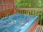 Intimate, Private Hot Tub