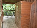 Sauna for Two!.......Romance!