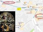 A escasos tres minutos del famoso cuadro del Greco 'El entierro del Conde de Orgaz'