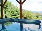 Hot Tub w/ great views!