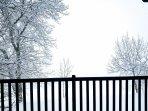 vista dal terrazzo - inverno