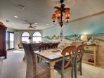 Dining and Living Area, Oceanfront Views