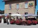 Unsere schöne Ferienwohnung liegt in der Mitte der Draisinenstrecke Staudernheim/Altenglan.