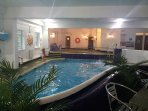 Free use of the on site Heated Indoor pool