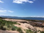 one of the many beautiful beaches on Cumbrae