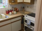 Compact well-equipped kitchen