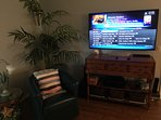 60' Smart Hub 4k Television with Direct TV HD DVR