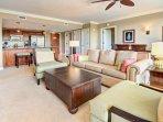 An incredible 6th floor 2 bedroom suite