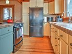 Prepare a meal in the fully equipped kitchen.