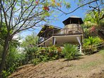 Perched on a hill, the Sugar Mill Tower is well-sited in the extensive gardens and 2 acre estate.
