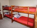 5th Bedroom - 2 Twin Bunks & Twin Bed