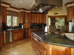 Large Gourmet Kitchen with Viking Appliances