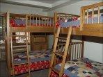 3rd Bedroom- 2 Bunks
