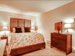 First Bedroom - Bedding Varies