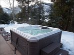 Private Hot Tub with Beautiful Mountain Views
