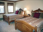 Second Bedroom has Two Double Beds