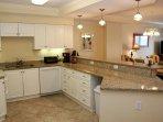 Gourmet Kitchen with Granite Countertops