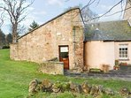 MERCAT COTTAGE, all ground floor, pet-friendly, shared formal gardens and privat