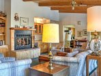 This spacious property comfortably sleeps 6 lucky guests.