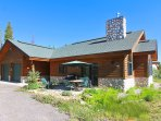 Large three bedroom cabin in tranquil Elk Run subdivision.