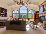 Bright and spacious mountain home.
