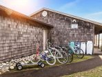 Many activities from boogie boarding to biking are available at Surf Rider