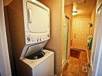 washer. dryer in 2nd bathroom