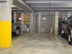 Underground, heated garage with a designated space for your vehicle plus extra spots
