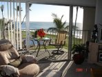 Lanai overlooking pool/ocean/New Lanai Furnitur
