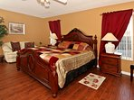 Presidential Villa - Master suite (King size)