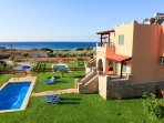 Beautiful Villa with Private Pool, Garden and Sea Views