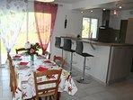 salle à manger -gite AMETZ 64130 Chéraute Mauléon