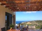 Balcony with views