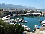 Kyrenia old Harbour, great to visit both by day and night.