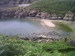 Maidenhead Bay 20 mins walk from Portpatrick along Southern Upland Way