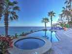 Escape to the stunning shores of Cabo San Lucas with a relaxing stay at this luxury vacation rental home.