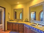 You'll have ample space for your toiletries throughout your stay.