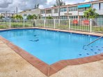 Take a swim in the sparkling community pool.
