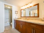 Masterbath with tub and shower
