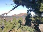 Chinyero vulcano.