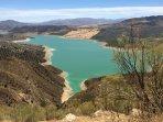 The Stunning Lake in Iznájar