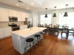fully remodeled kitchen. The best house in Trafalgar Village!!