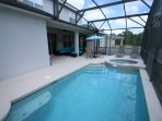 Private pool, optionally heated, overlooking conservation